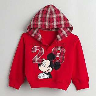 Toddler Boys Mickey Mouse Fleece Pullover Hoodie  Mickey Mouse Baby