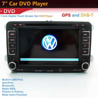 NEW7 2 din CAR GPS dvd player radio for VW IPOD TV