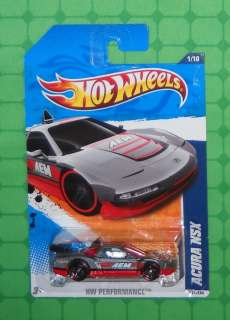 2011 Hot Wheels HW Performance #131 ACURA NSX   Grey
