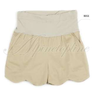 New Womens Casual Cotton Maternity Short Pants Large Size L XL XXL