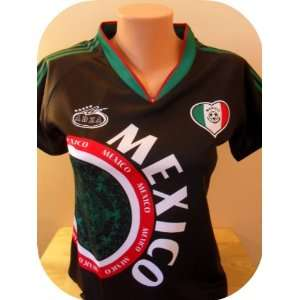 WOMEN MEXICO AWAY SOCCER JERSEY SIZE LARGE.NEW Sports