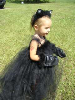 BLACK CAT HaLLoWeeN BOuTiQuE TuTu Costume 2t 3t 4t 5t