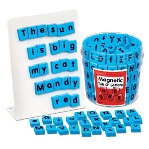 Tub of Magnetic Letters Toys & Games