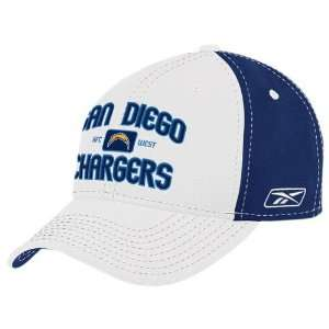 Reebok San Diego Chargers Topstitch Athletic Hat  Sports