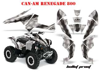 AMR DEKOR KIT CAN AM RENEGADE BULLET PROOF DECALS B
