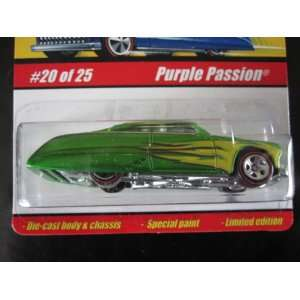 Purple Passion (Spectraflame Green) 2005 Hot Wheels Classics Series 1