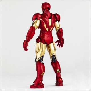 Revoltech SCI FI 024 IRON MAN MARK SIX action figures