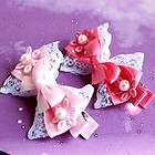 Candy Design girl baby lady Hair Accessories Snap Clips