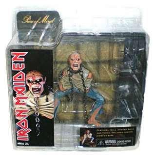 Neca Iron Maiden Eddie Piece of Mind 7 Loose Action Figure