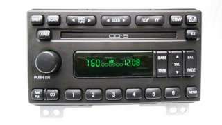 2002 2003 Ford MUSTANG EXPLORER MOUNTAINEER Radio 6 Disc CD Changer 02
