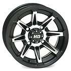 STI HD2 ATV Wheels/Rims Matte Black 14 Can Am Renegade Outlander