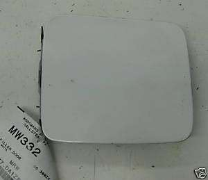 1986 86 NISSAN 300ZX GAS TANK DOOR CAP COVER WHITE OEM