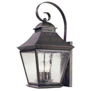 Hampton Bay Wall Mount 4 Light Outdoor Flemish Lantern  DISCONTINUED