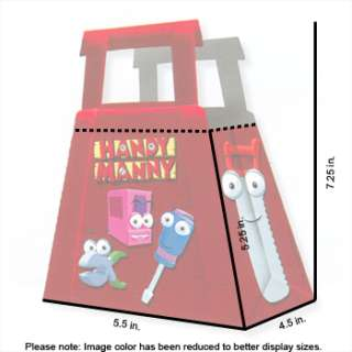 Disney Handy Manny Treat Boxes Party Favors 4pc