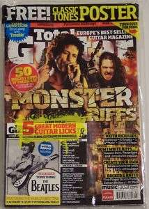 TOTAL GUITAR Monster Riffs W/CD BEATLES Dimebag XTR Oct