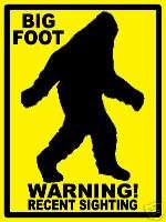 PROPERTY SIGN   Big Foot Sighted   (large) #PS 485 86^