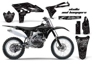 AMR RACING MOTORCROSS GRAPHIC DIRT BIKE DECAL KIT YAMAHA YZ 250 F YZF