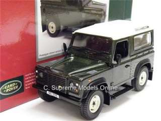 LAND ROVER DEFENDER 90 HARD TOP 1/32ND SCALE MODEL CAR MINT BOXED A