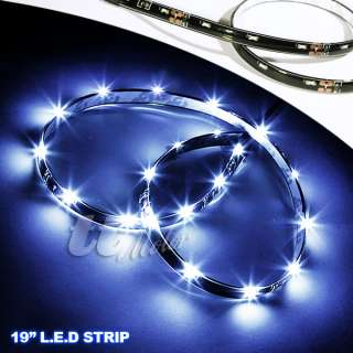 2X AUDI STYLE LED STRIP DRL LIGHT HYUNDAI GENESIS COUPE
