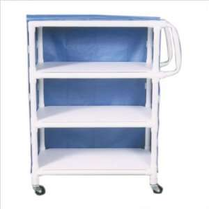 MJM International 332 C KIT Mid Size Linen Cart and Optional Accessory