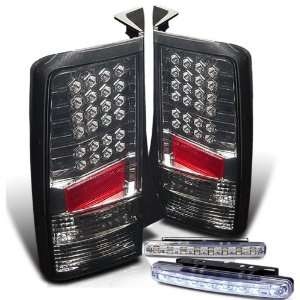 04 06 Scion Xb Tail Lights + 8 Led Bumper Fog Lamp Automotive