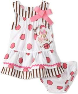 Disney Baby girls Infant Polka Dot Dress Clothing