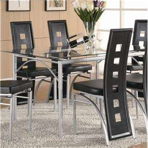 Metal Dining Table by Coaster Furniture Furniture & Decor
