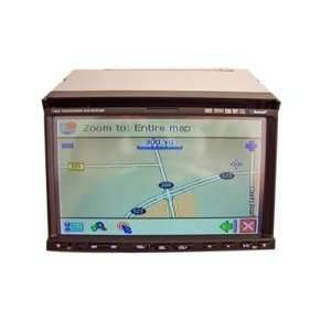 inch Touch Screen 2 Din In Dash Car DVD Player Built in GPS Function