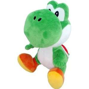 New Super Mario Bros. Wii 6 Inch Plush Yoshi Toys & Games
