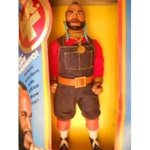 Team Mr. T Real LIfe Super Hero Action Figure 1983 Toys & Games