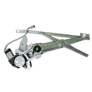 Honda Civic Sedan Front Power Window Regulator with Motor