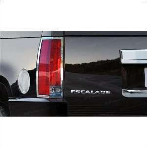 SES Trims Chrome Tail Light Trim 07 11 Cadillac Escalade