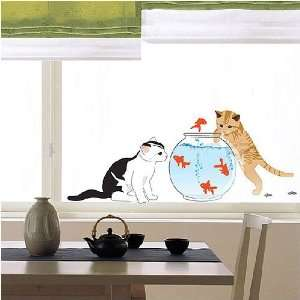 Fishes removable Vinyl Mural Art Wall Sticker Decal