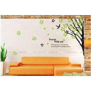 Reusable/removable Decoration Wall Sticker Decal   Forever