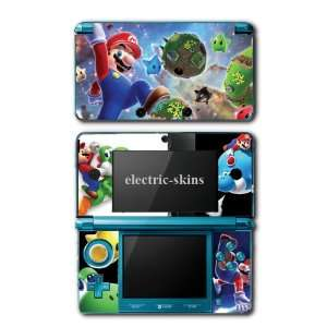 Nintendo 3DS Skins   Super Mario Bros Galaxy Game #2 Skin