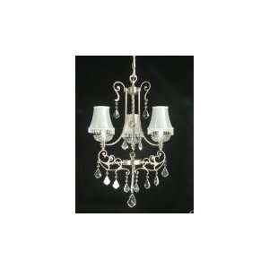 Dale Tiffany Lalique 3 Light Mini Chandelier GH70336