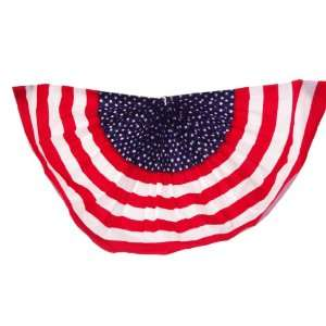 American Flag Stars & Stripes Bunting with Grommets 24 X