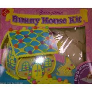 Springtime Easter Bunny House Kit Build Your Own  Grocery