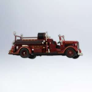 1936 Ford Fire Engine Fire Brigade #10 2012 Hallmark Ornament