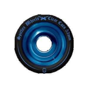 Spitfire Clearcut Wheels Black/Blue 54mm Sports