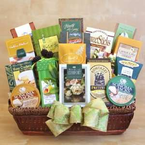 California Delicious Special Thoughts of Sympathy Gift Basket