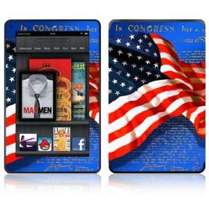 Flag of Honor Design Decorative Skin Decal Sticker for  Kindle