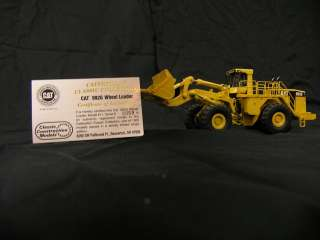 CAT 992G Wheel Loader 187 Scale Brass Classic Construction Models