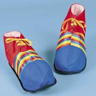 Jumbo CLOWN SHOES Carnival Circus Party Costume Funny NEW 887600655706