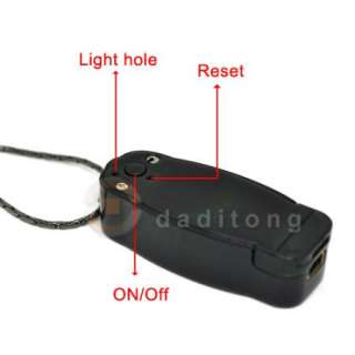 Mini Spy Necklace DVR Video Recorder Hidden Camera USB