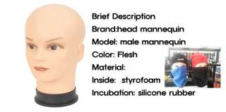 Man manikin mannequin male Makeup Mask Wig hat display model Jewelry