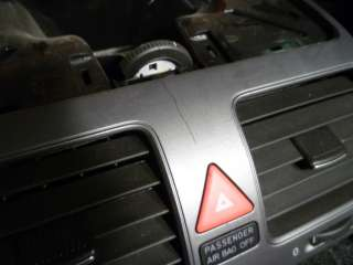 VW MK5 JETTA RABBIT CENTER DASH VENTS CLIMATE HVAC